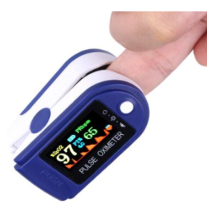 Colour Display Fingertip Pulse Oximeter