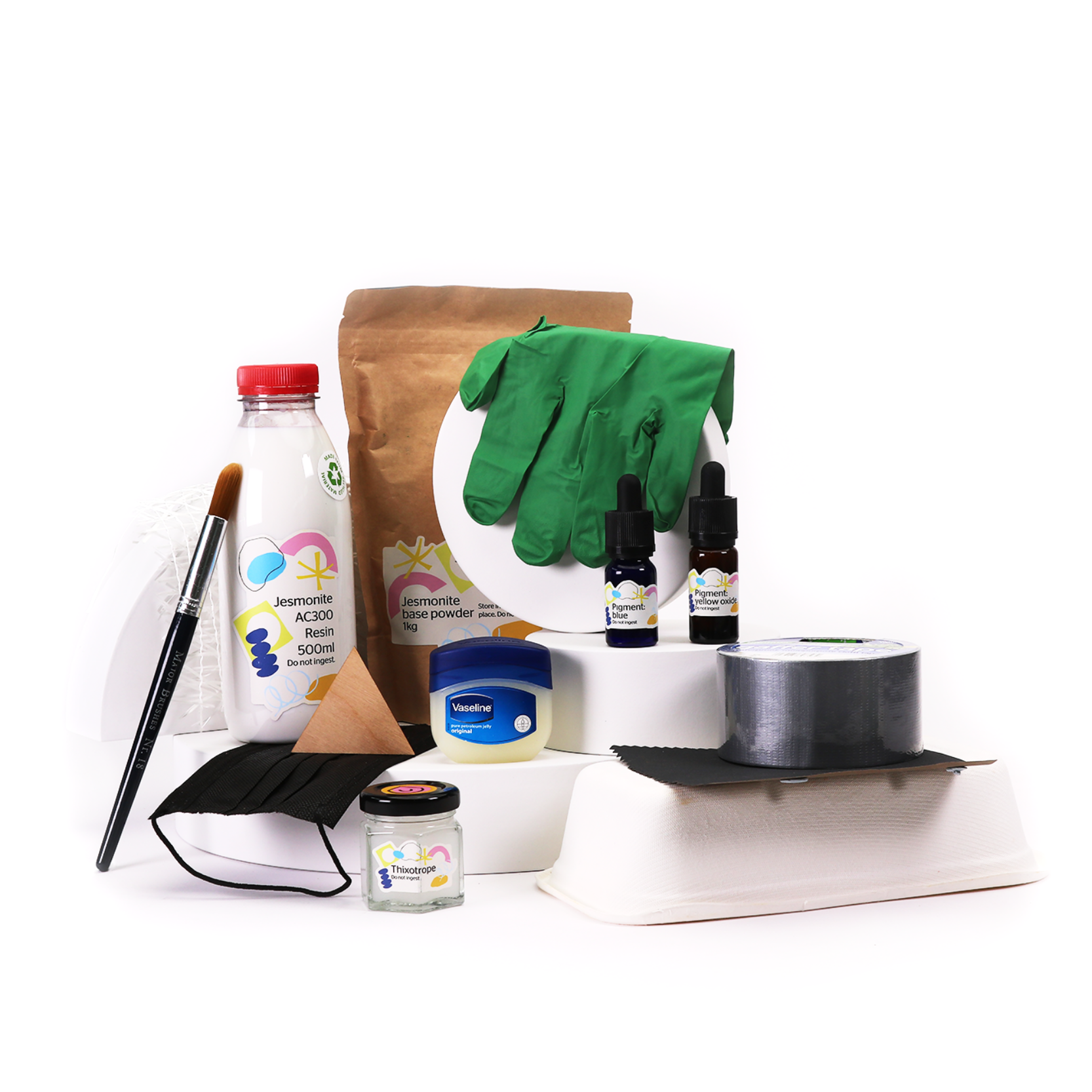 Yambe's Jesmonite Casting and Moulding Kit