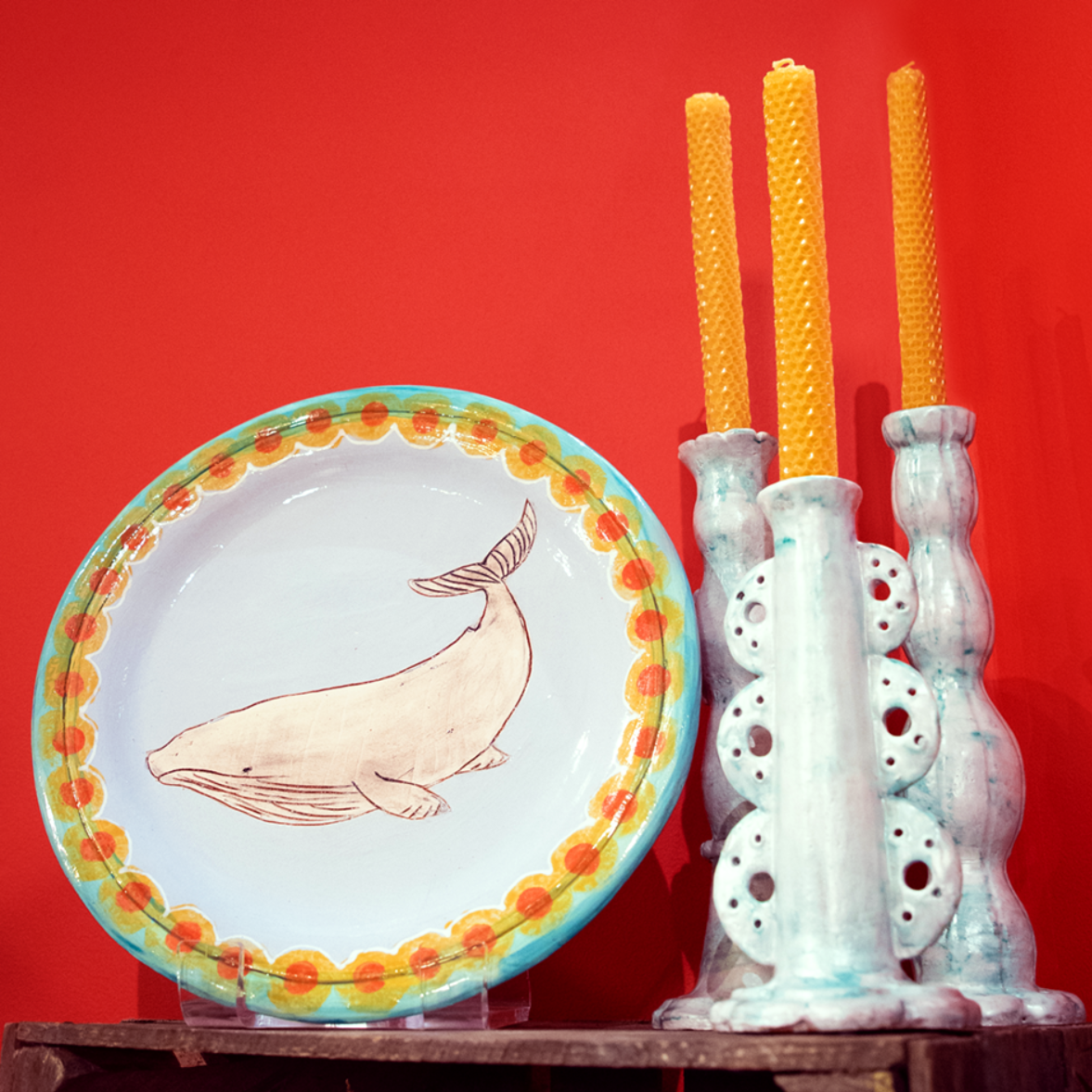 Dee's Clay Candlestick Kit