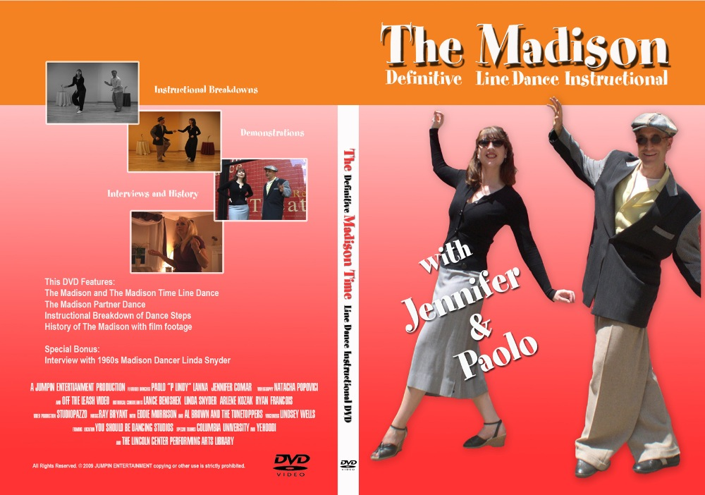 The Madison Time line dance DVD & Free Download