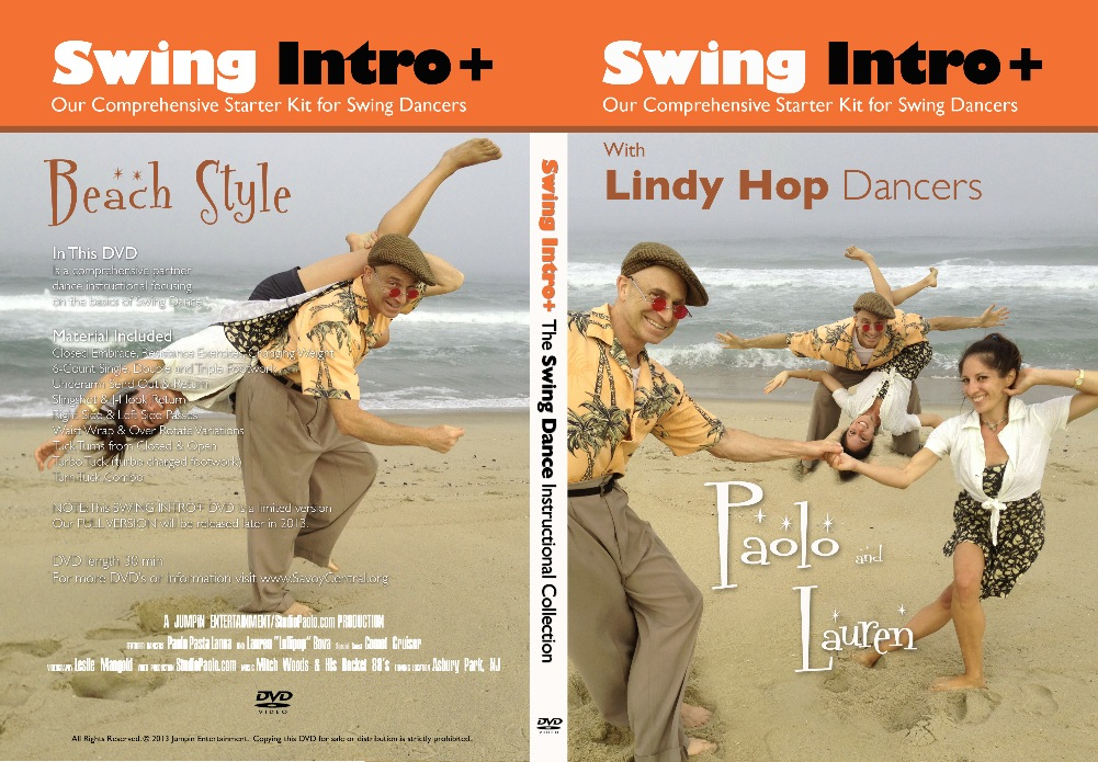 Swing Intro Video DVD + free download included