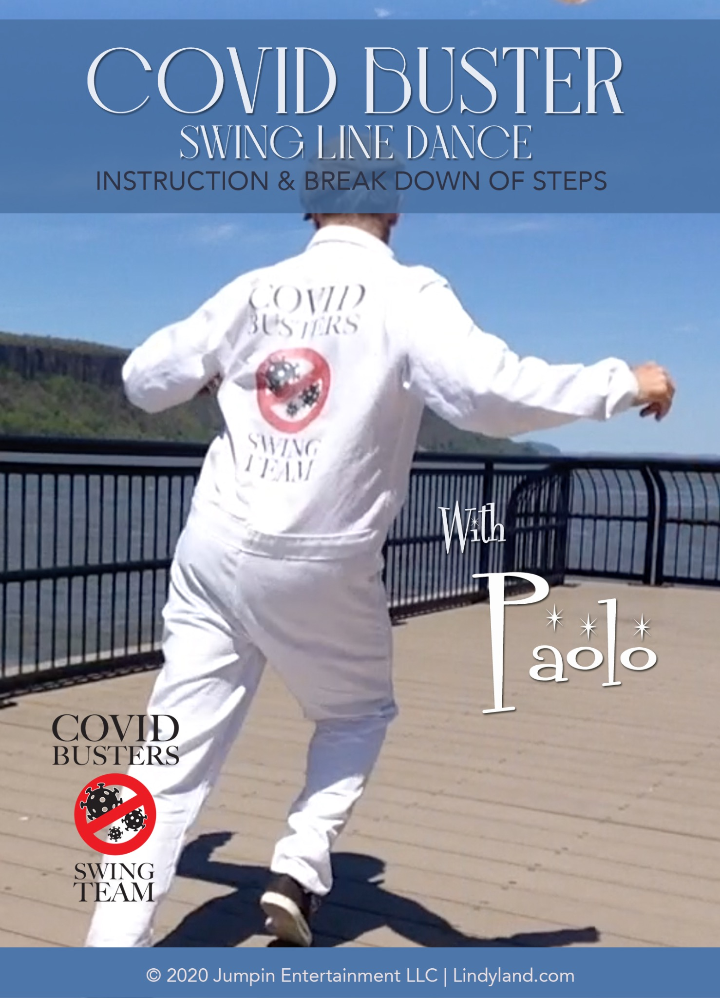 The Covid Busters Line Dance Instruction