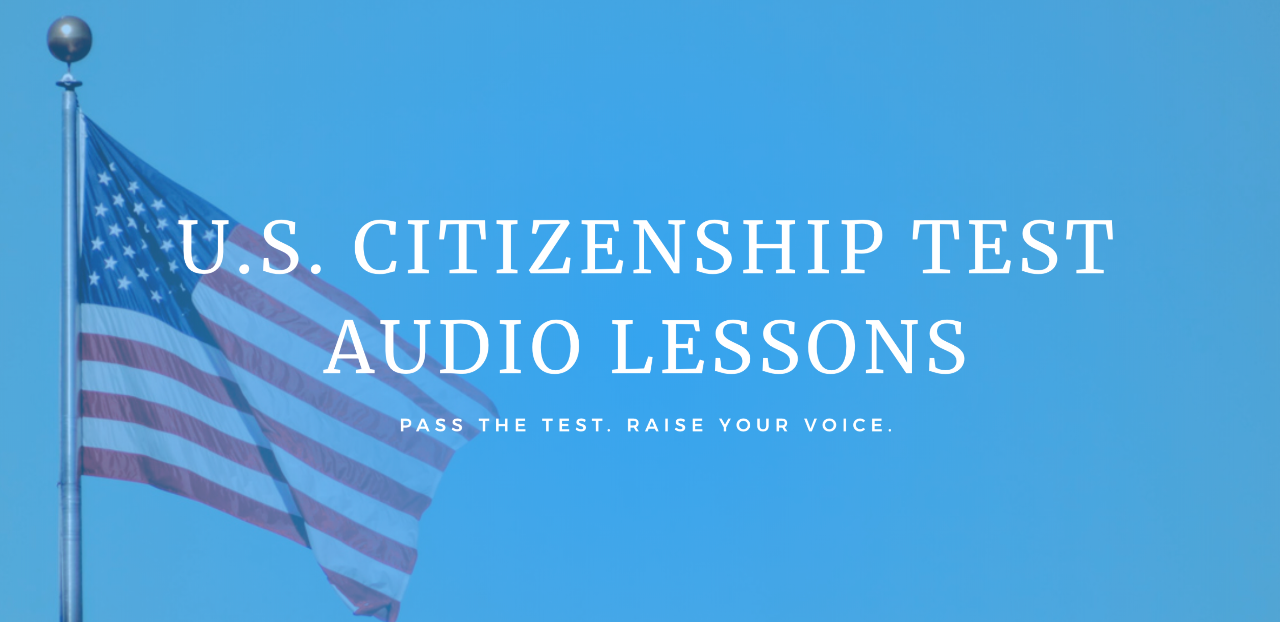 Good Pack: Civics Test Audio Flash Cards