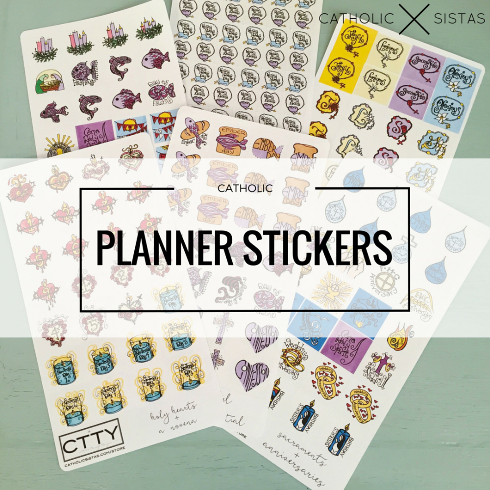 DAYBOOK || Liturgical Planner Stickers