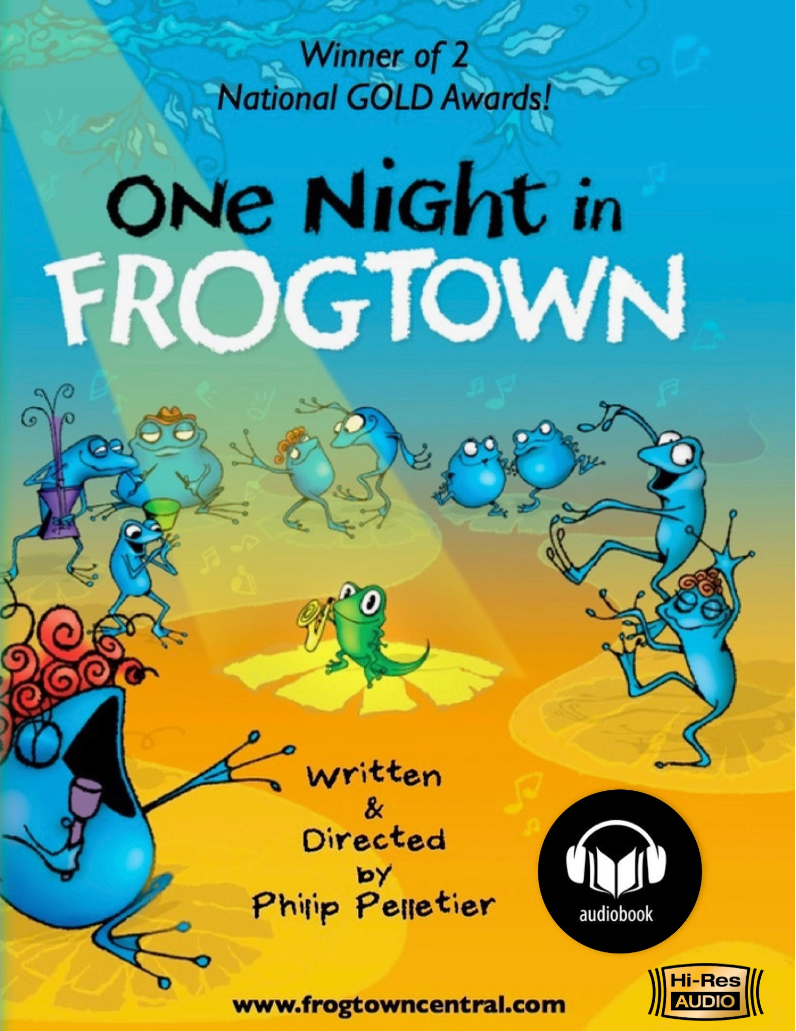 """One Night in Frogtown""  DIGITAL AUDIOBOOK  Download/Stream"