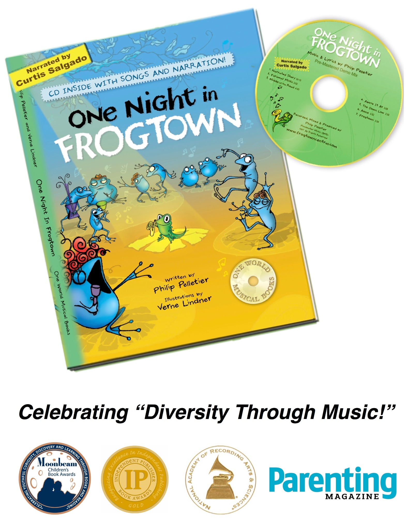 """One Night in Frogtown""  SIGNED BOOK/CD & Audio Download"