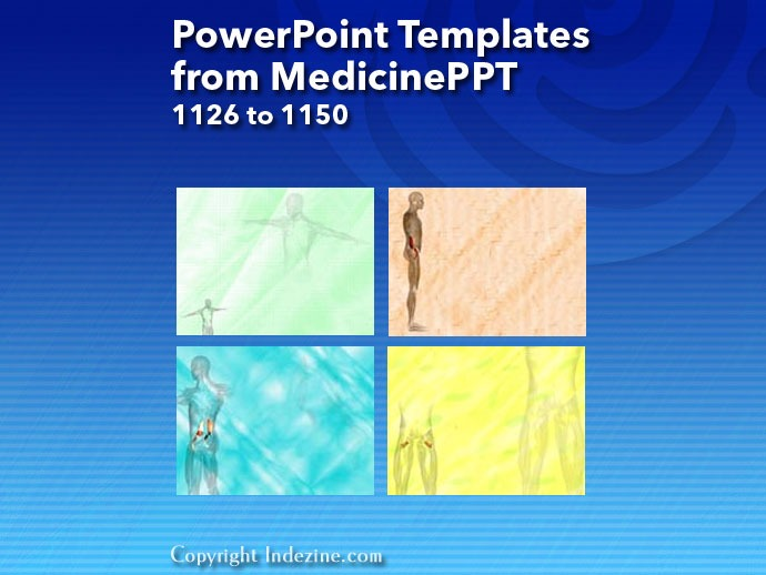 PowerPoint Templates from MedicinePPT 046: Designs 1126 to 1150