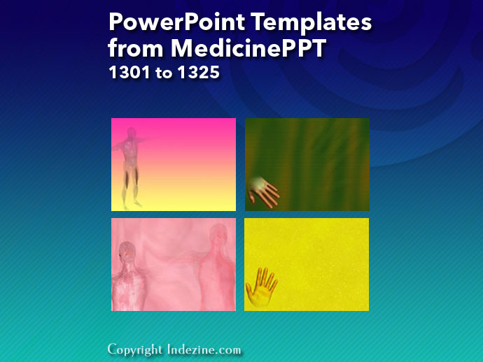 PowerPoint Templates from MedicinePPT 053: Designs 1301 to 1325