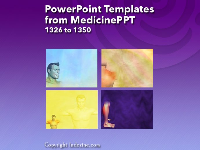 PowerPoint Templates from MedicinePPT 054: Designs 1326 to 1350