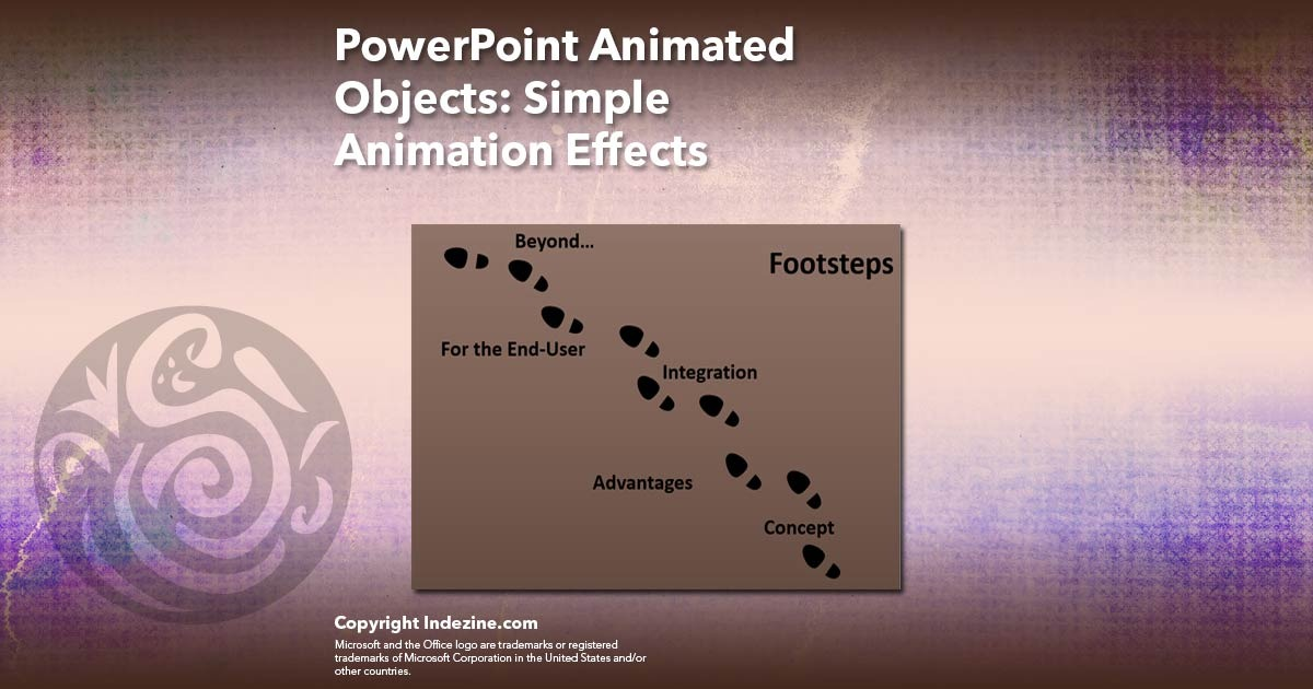 PowerPoint Animated Objects: Simple Animation Effects