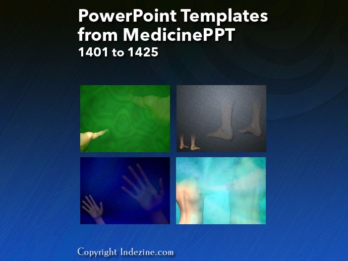 PowerPoint Templates from MedicinePPT 057: Designs 1401 to 1425