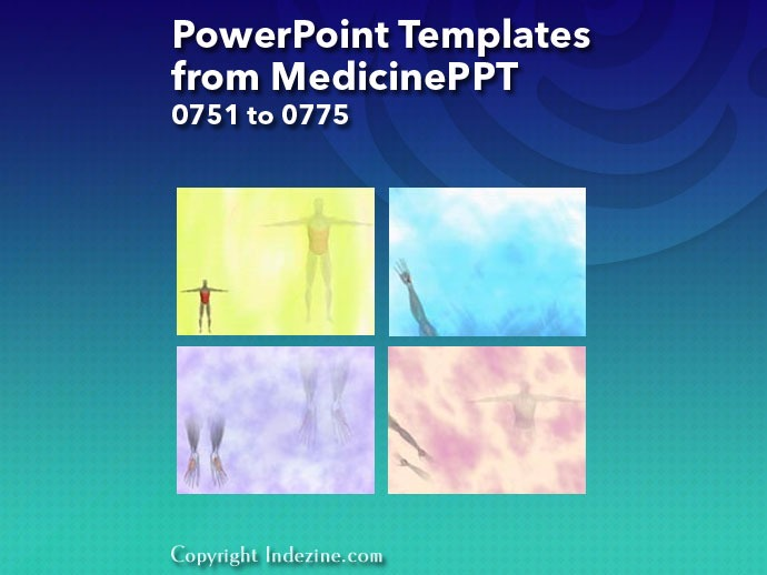 PowerPoint Templates from MedicinePPT 031: Designs 0751 to 0775