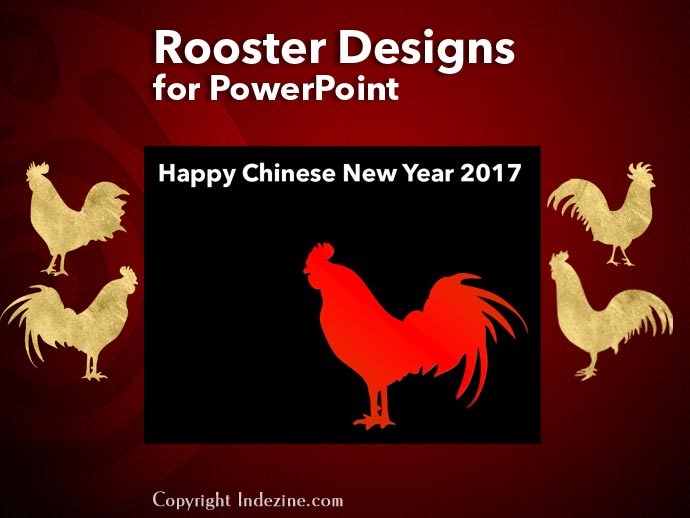 PowerPoint Shapes: Rooster Designs