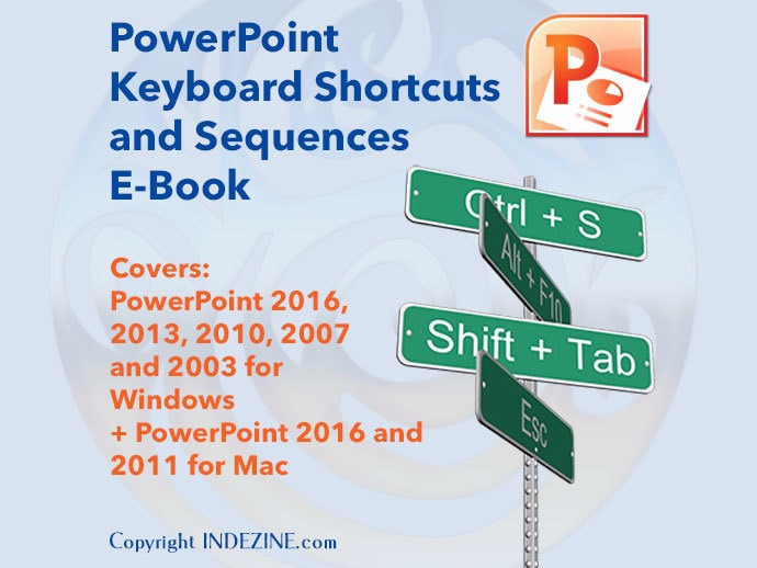 Ebook: PowerPoint Keyboard Shortcuts and Sequences E-book
