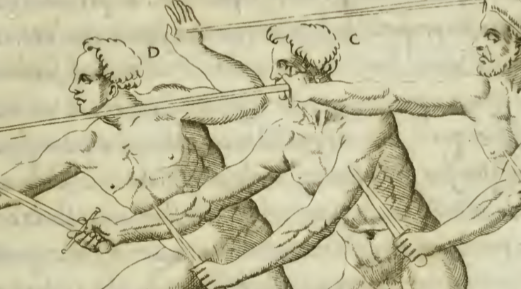Camillo Agrippa's Scientia d'Arme from 1553
