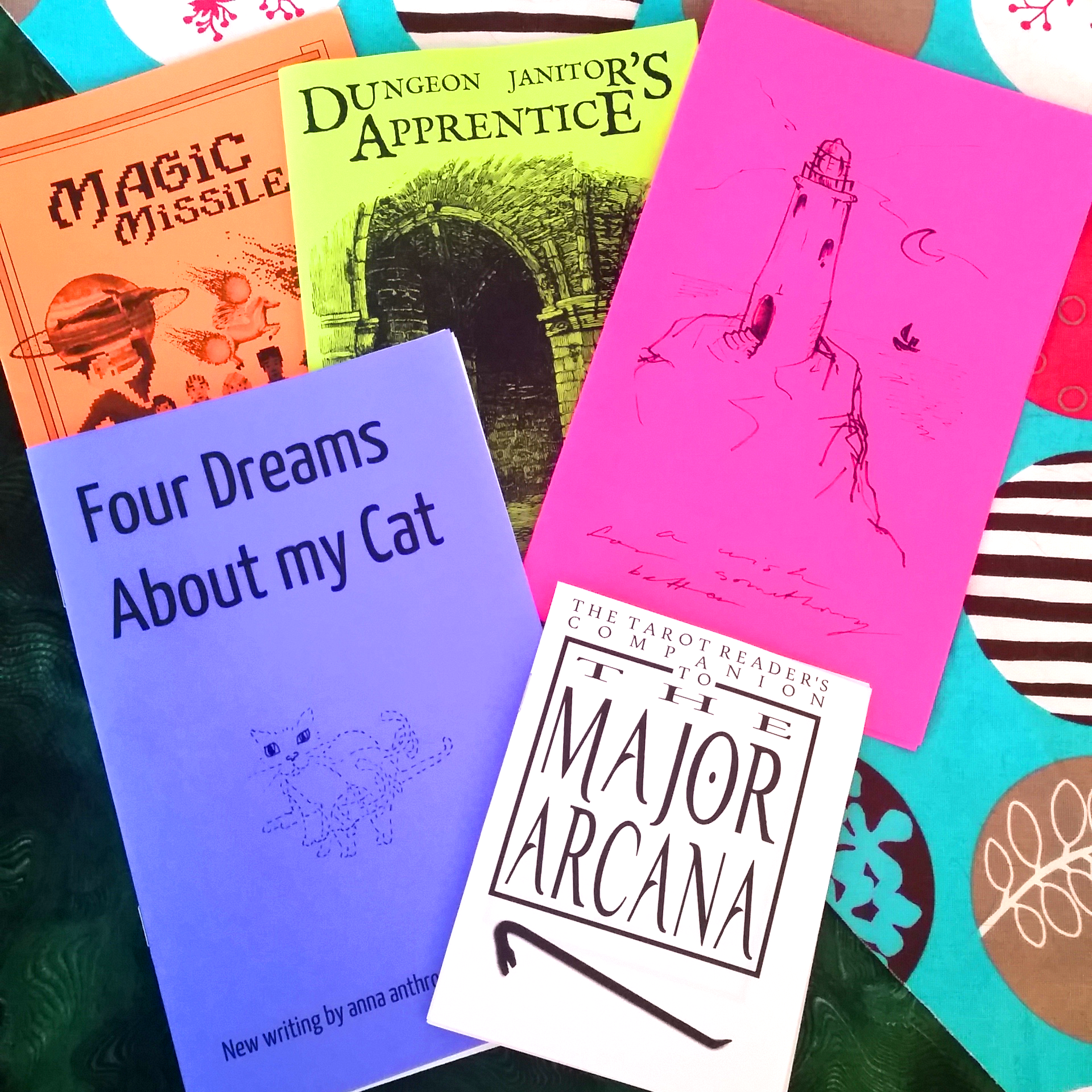 Five Zines About My Cat