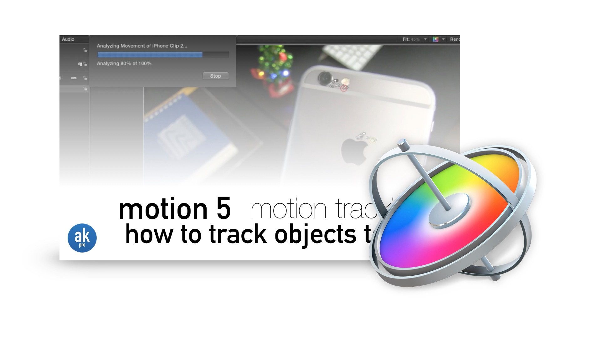 Motion Tracking in Motion 5 Footage