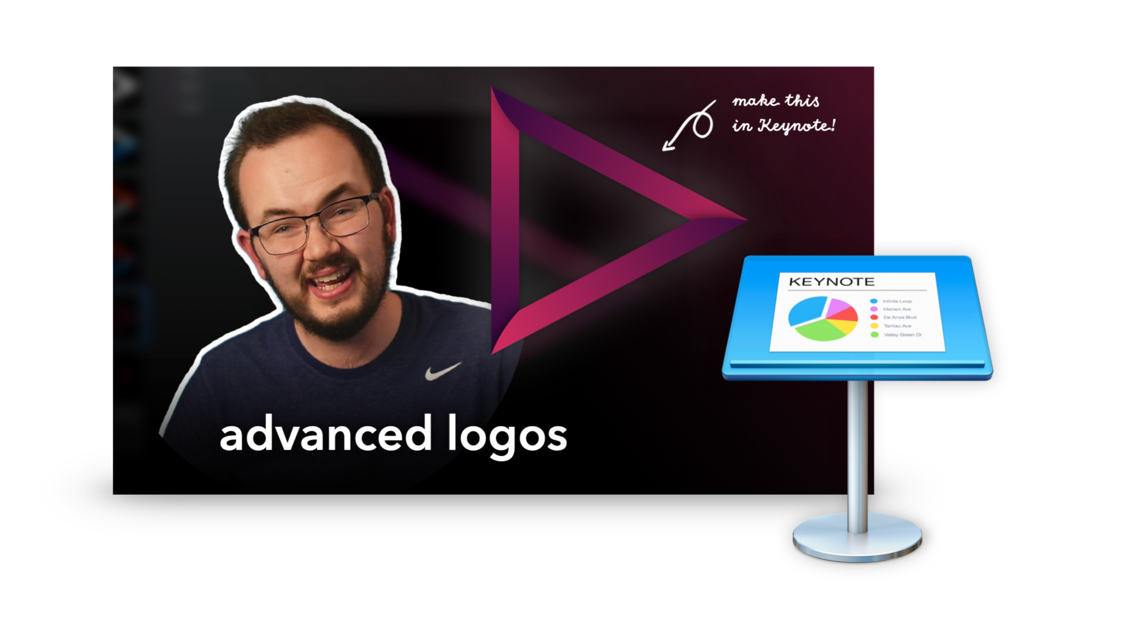 Advanced Logos in Keynote Project File