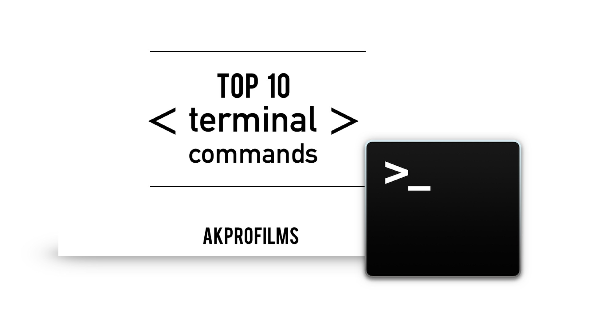 Top 10 Terminal Commands List