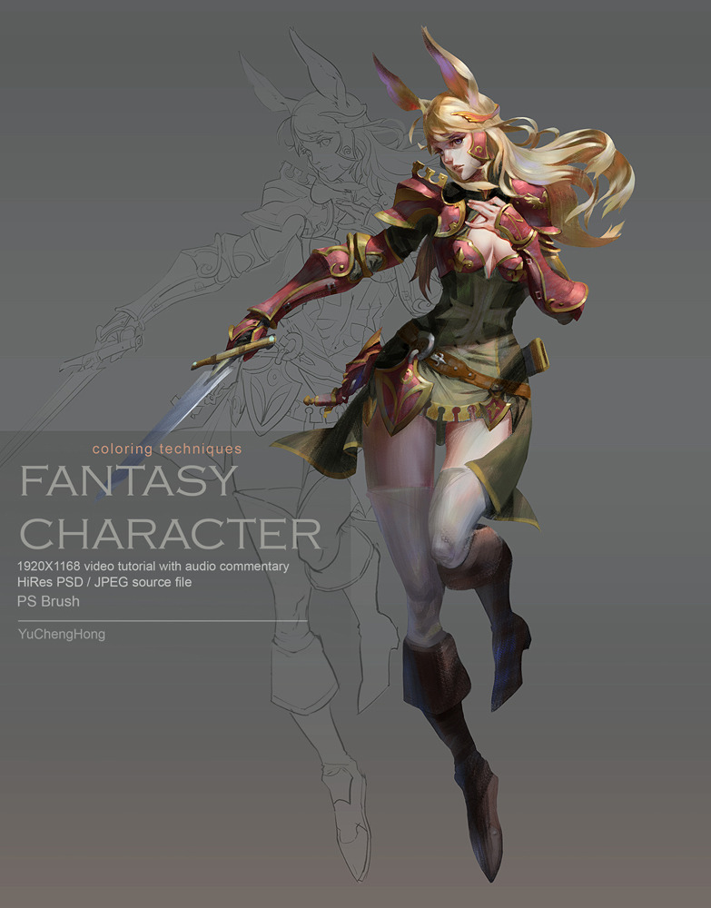 Paint the Fantasy Character