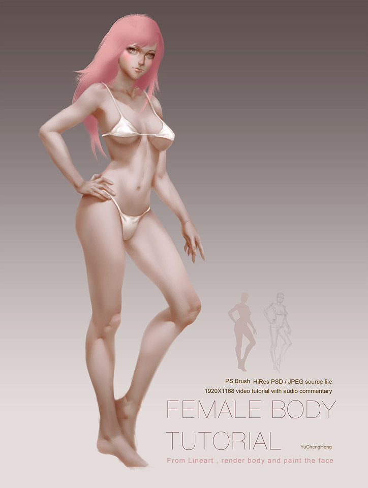 Paint Female Body