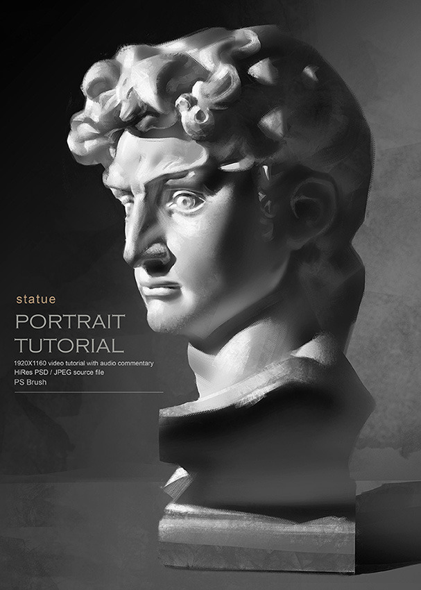 Statue portrait tutorial