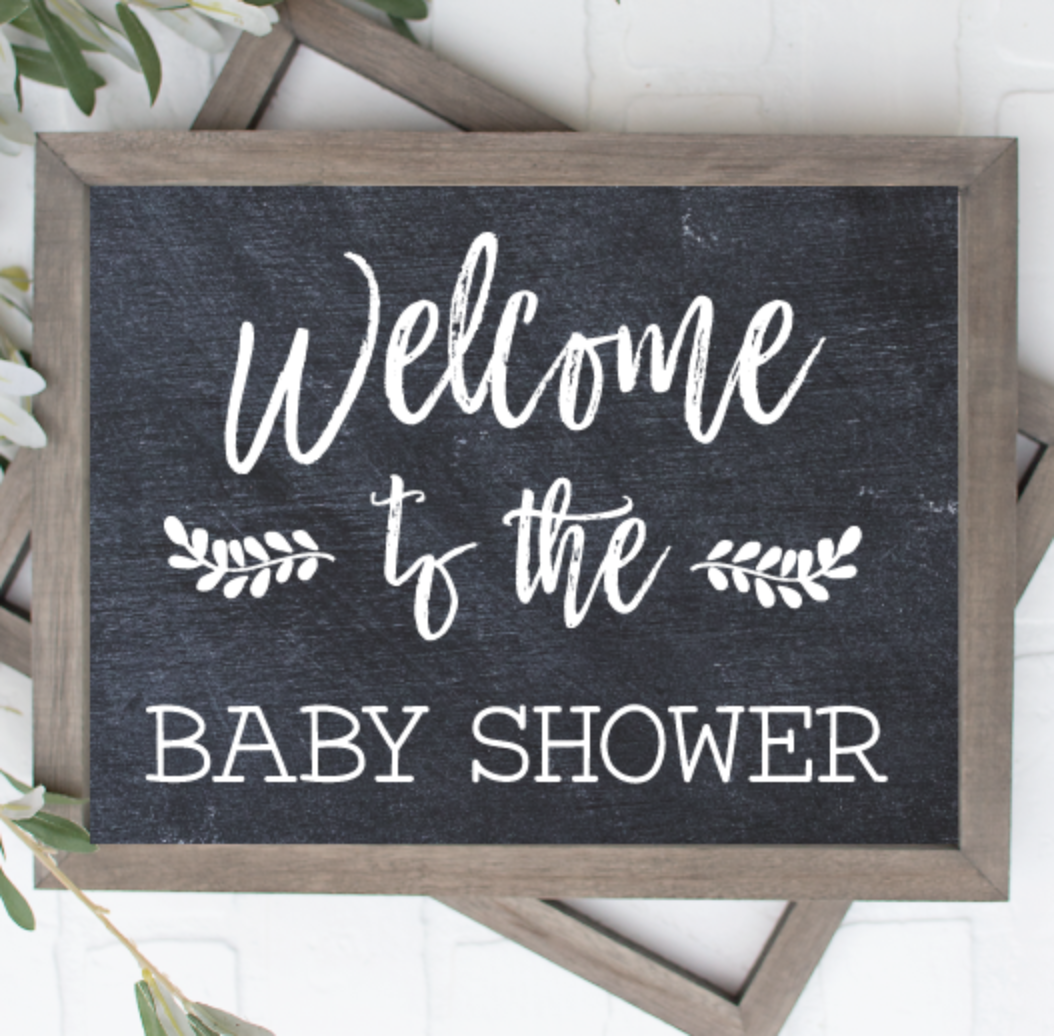 3 Printable Baby Shower Signs