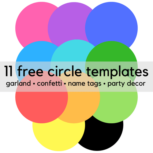 11 Free Printable Circle Clip Art Templates