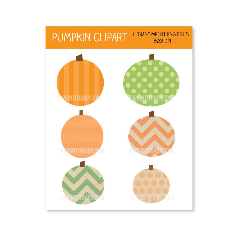 Halloween Autumn Fall Pumpkin Clipart Clip Art