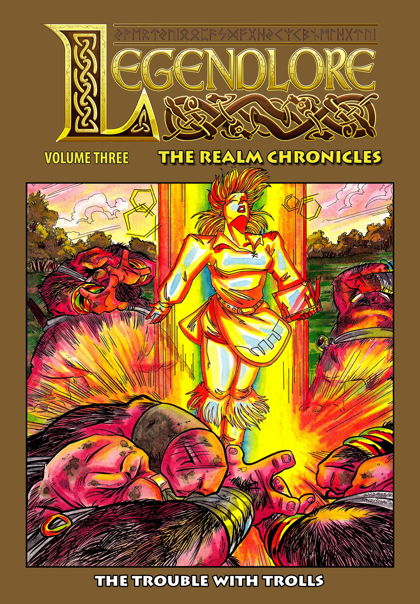Legendlore - Volume 3: The Realm Chronicles - The Trouble with Trolls