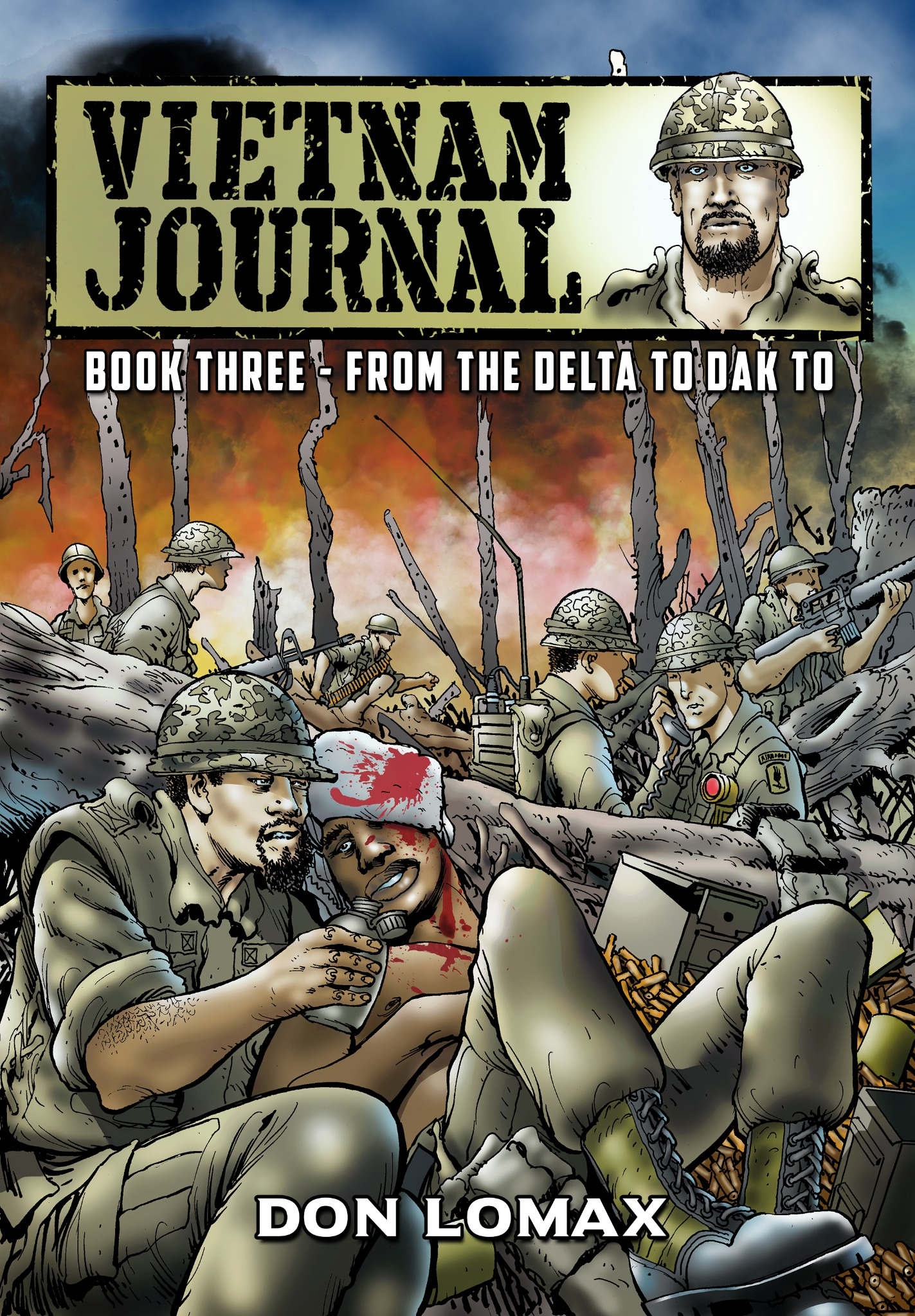 Vietnam Journal: Book 3 - From the Delta to Dak To