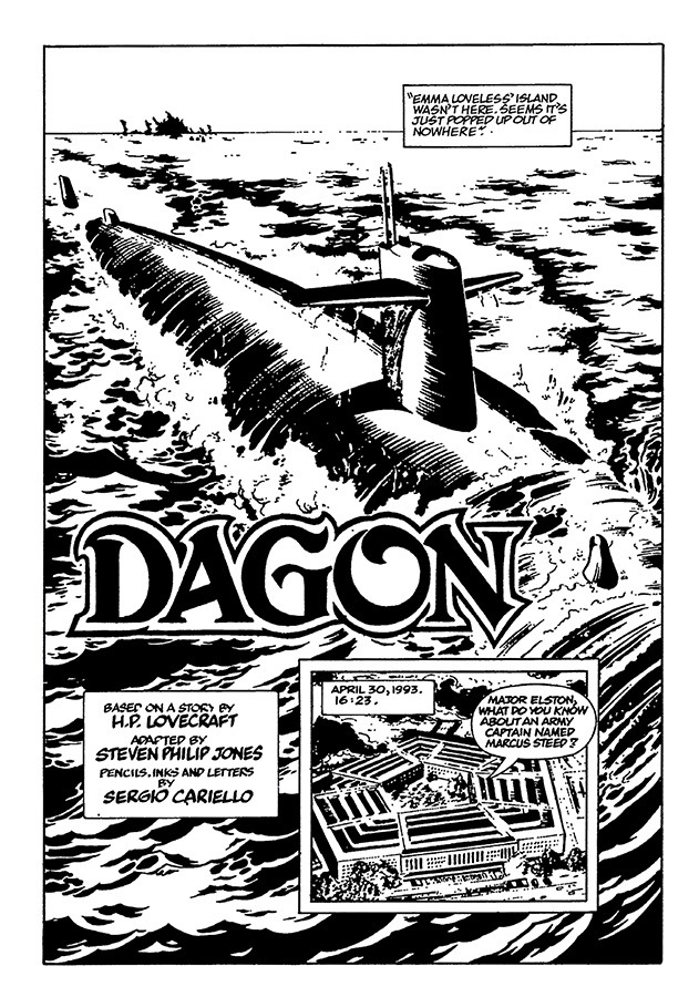 H.P. Lovecraft's Worlds - Volume 2: Dagon and Other Tales