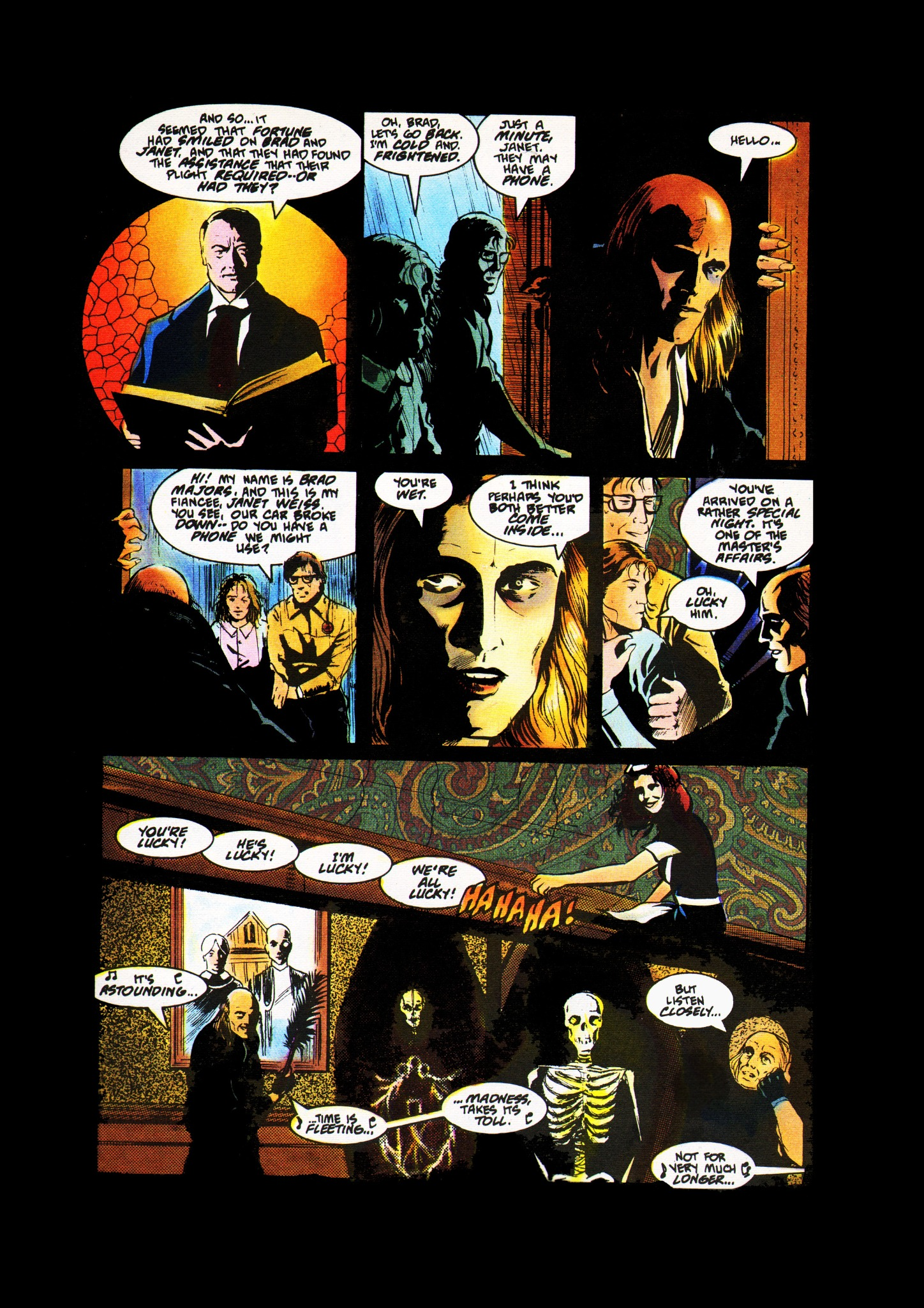Rocky Horror Picture Show: The Comic Book Adaptation