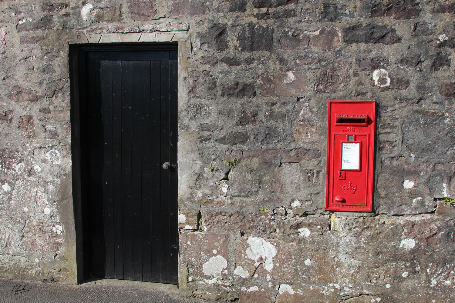 'Letter Box and Door'