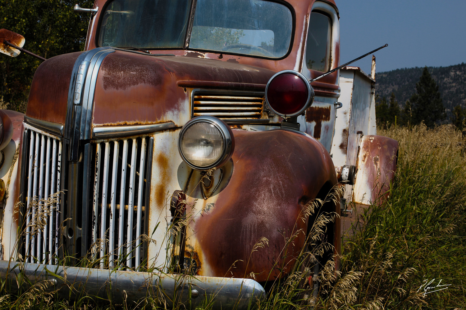 'Ford Truck in Patina'