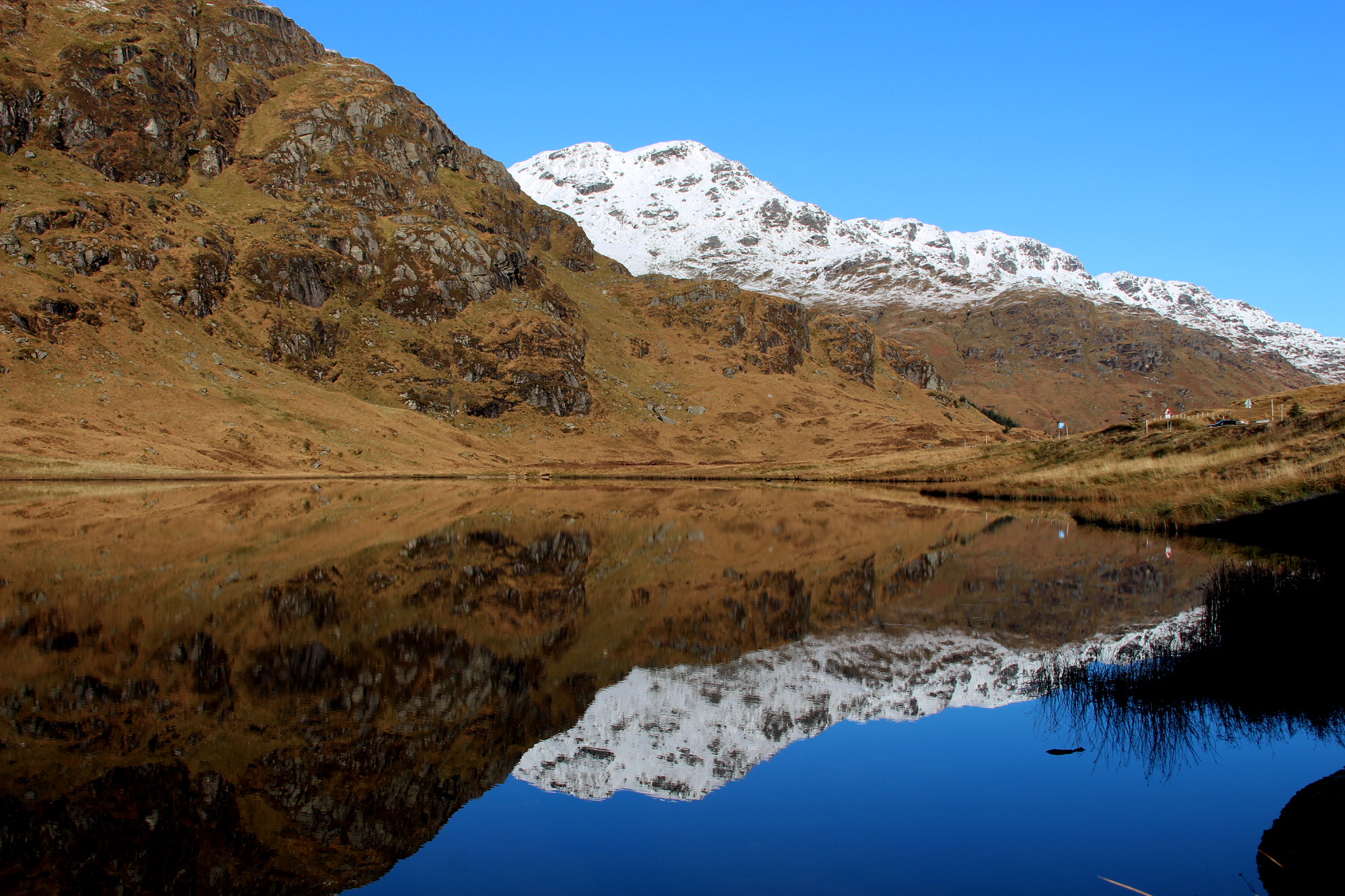 Loch Restil, The Rest and Be Thankful