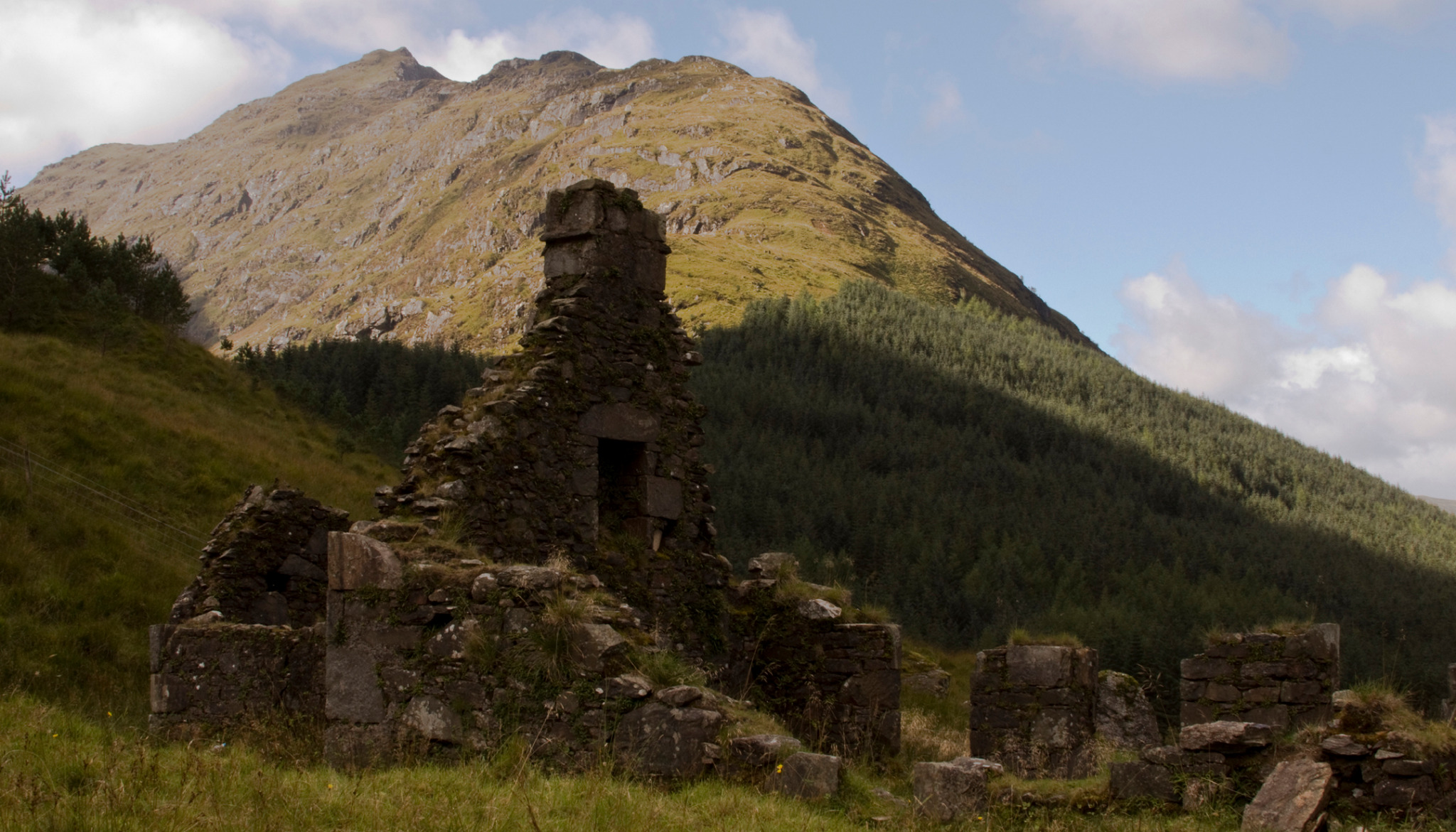 Ruin in the Highlands