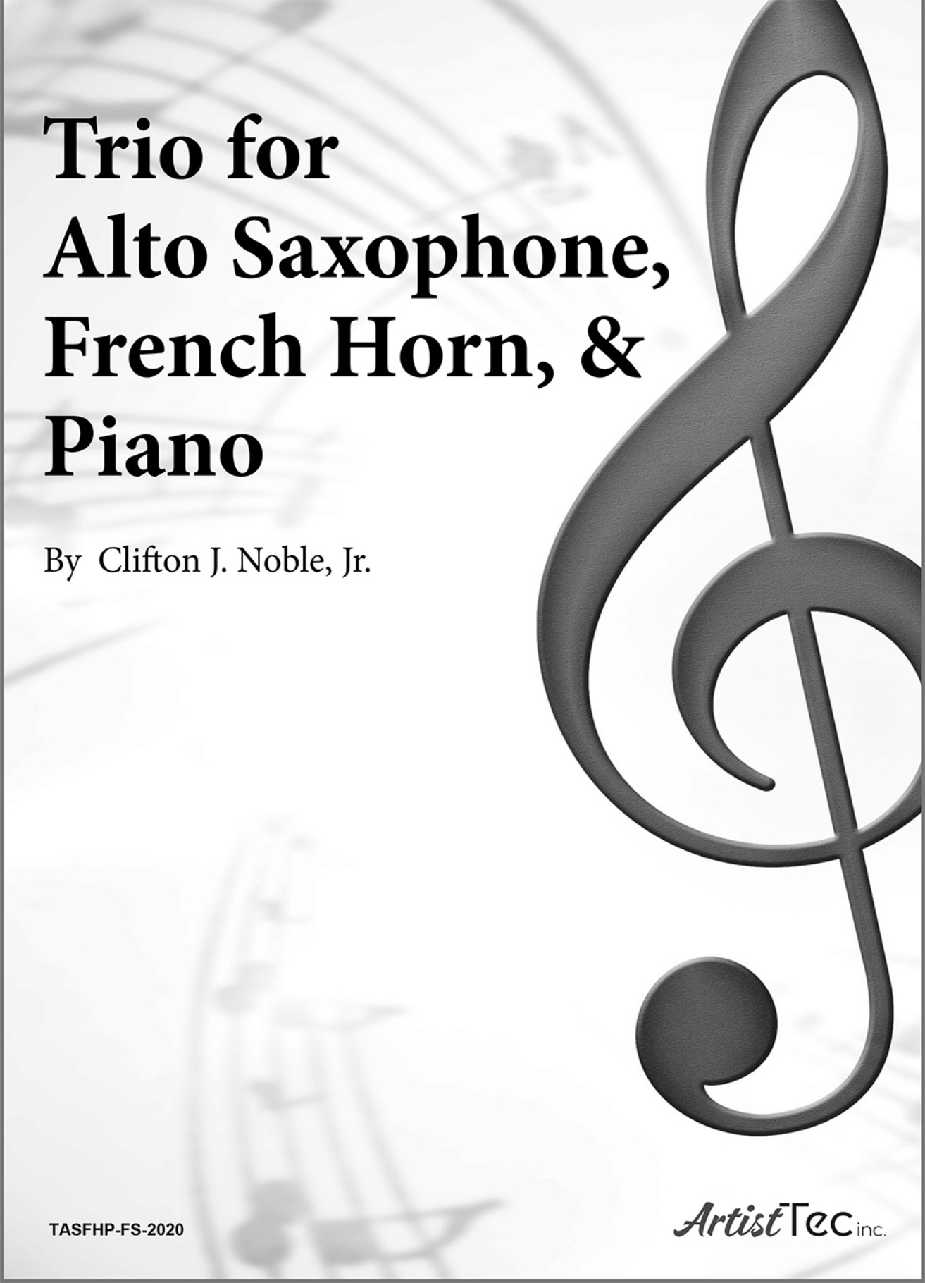 Trio for Alto Saxophone, French Horn, and Piano
