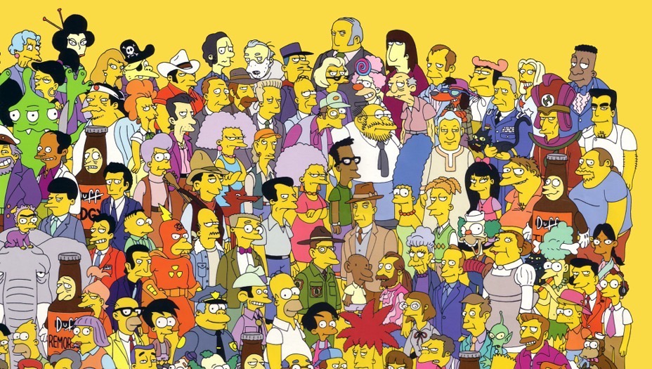 Simpsons Characters - 1 - TV