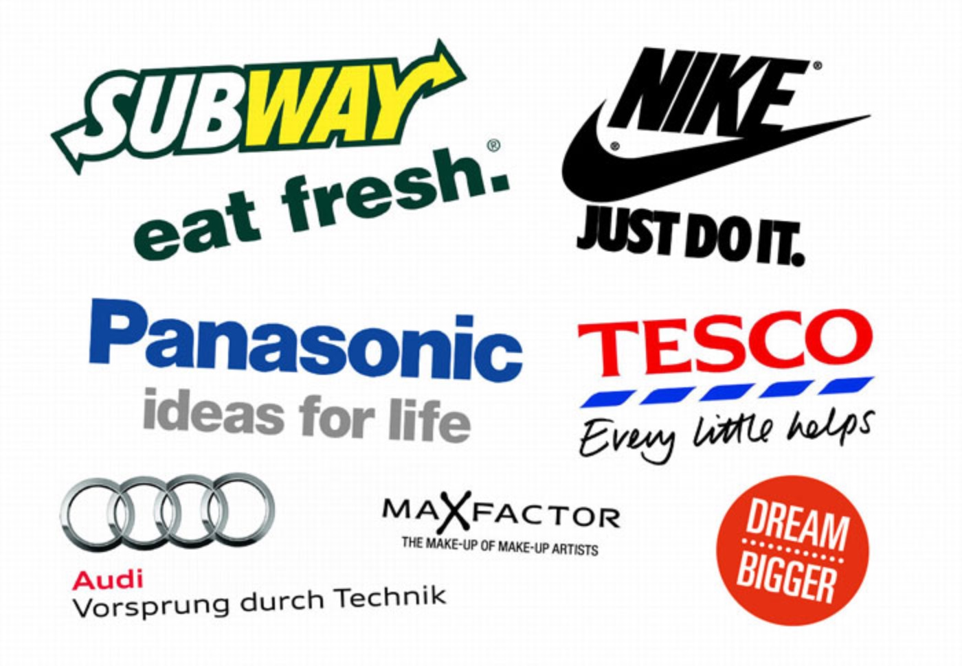 Famous Advertising Slogans - Quick Questions