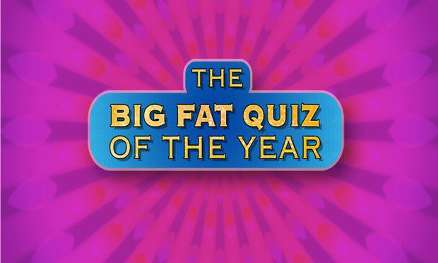 Big Fat Quiz of The Year 2016 (Round 6)