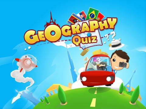 Geography Quiz Keypad - 14 - Quick Questions