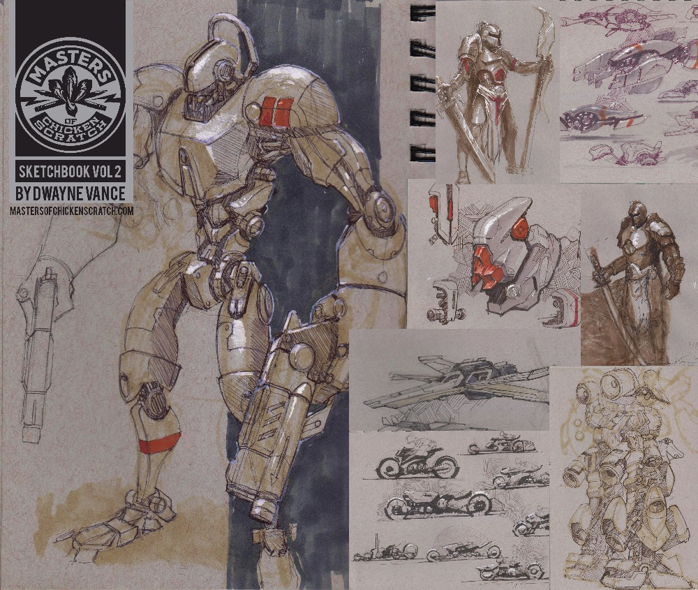 Dwayne Vance Sketchbook Vol2