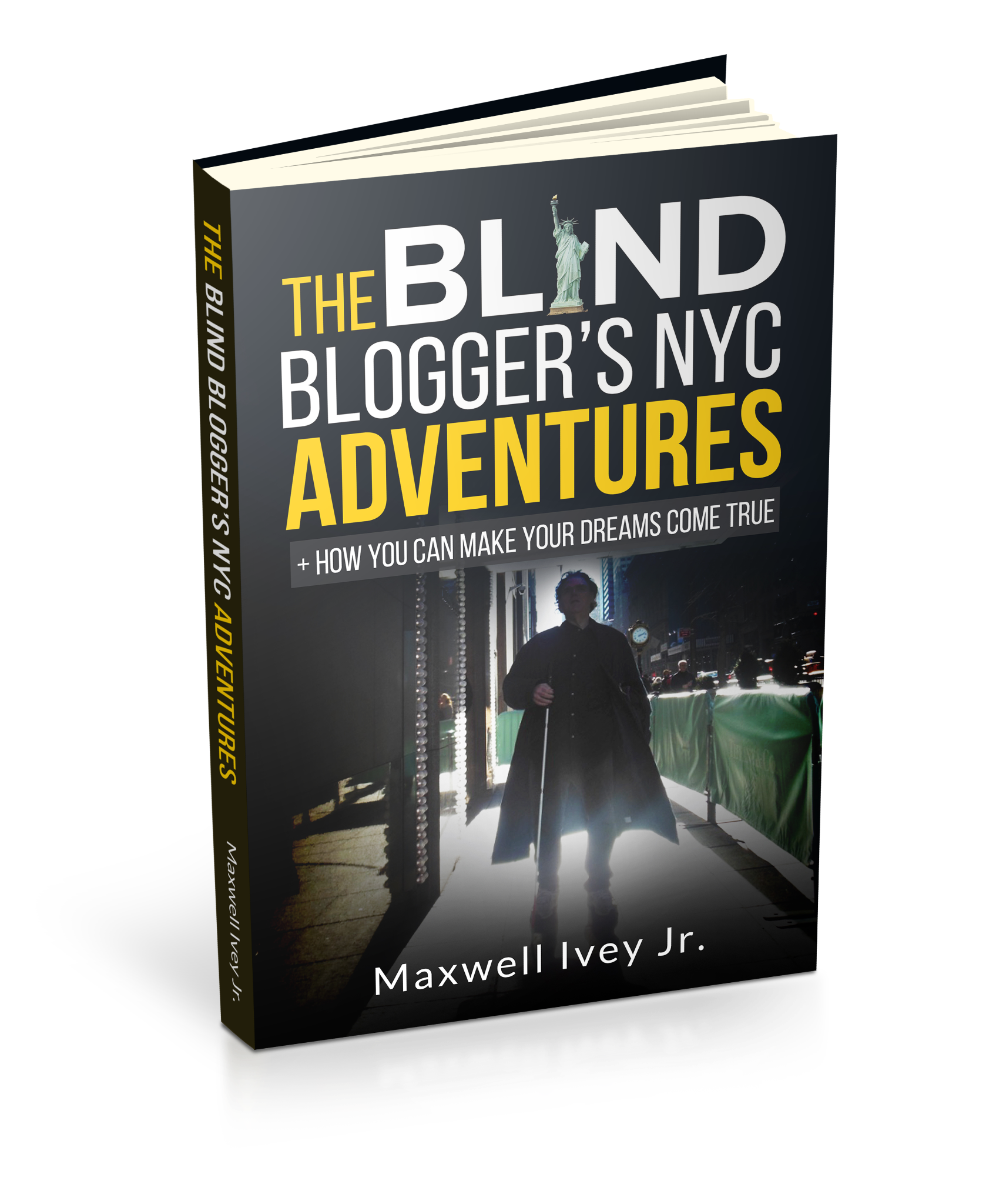 Signed copy of The Blind Blogger's NYC Adventures