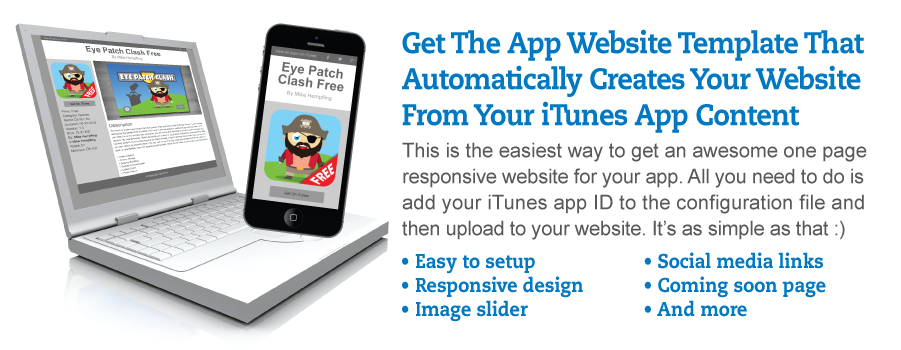 App Gazer Gray One Page Website Template