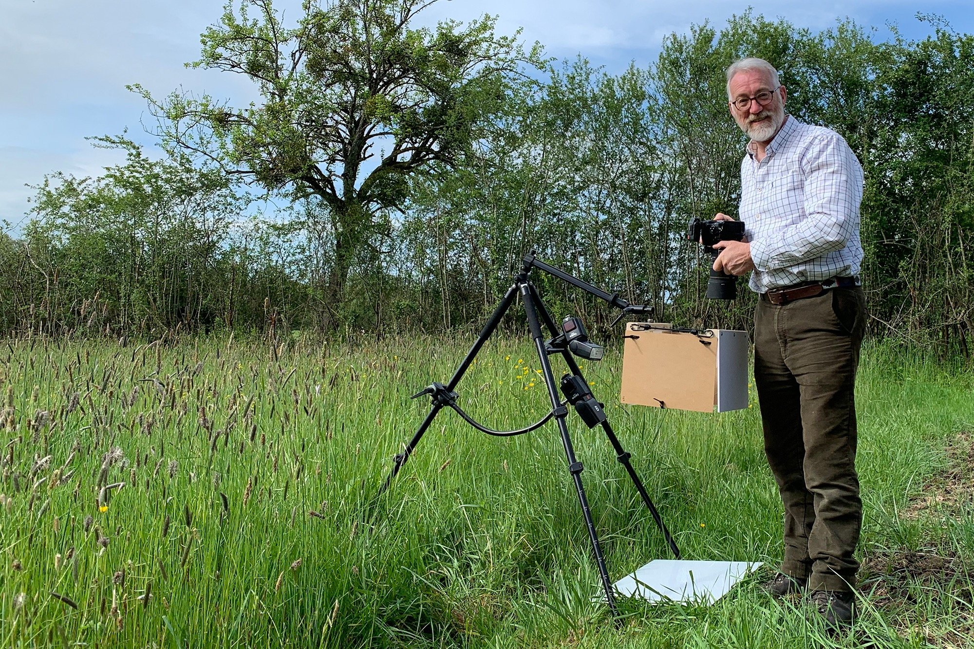 Nature on white - a live introduction to field studio photography. 30th May 2021, 15:30 CEST