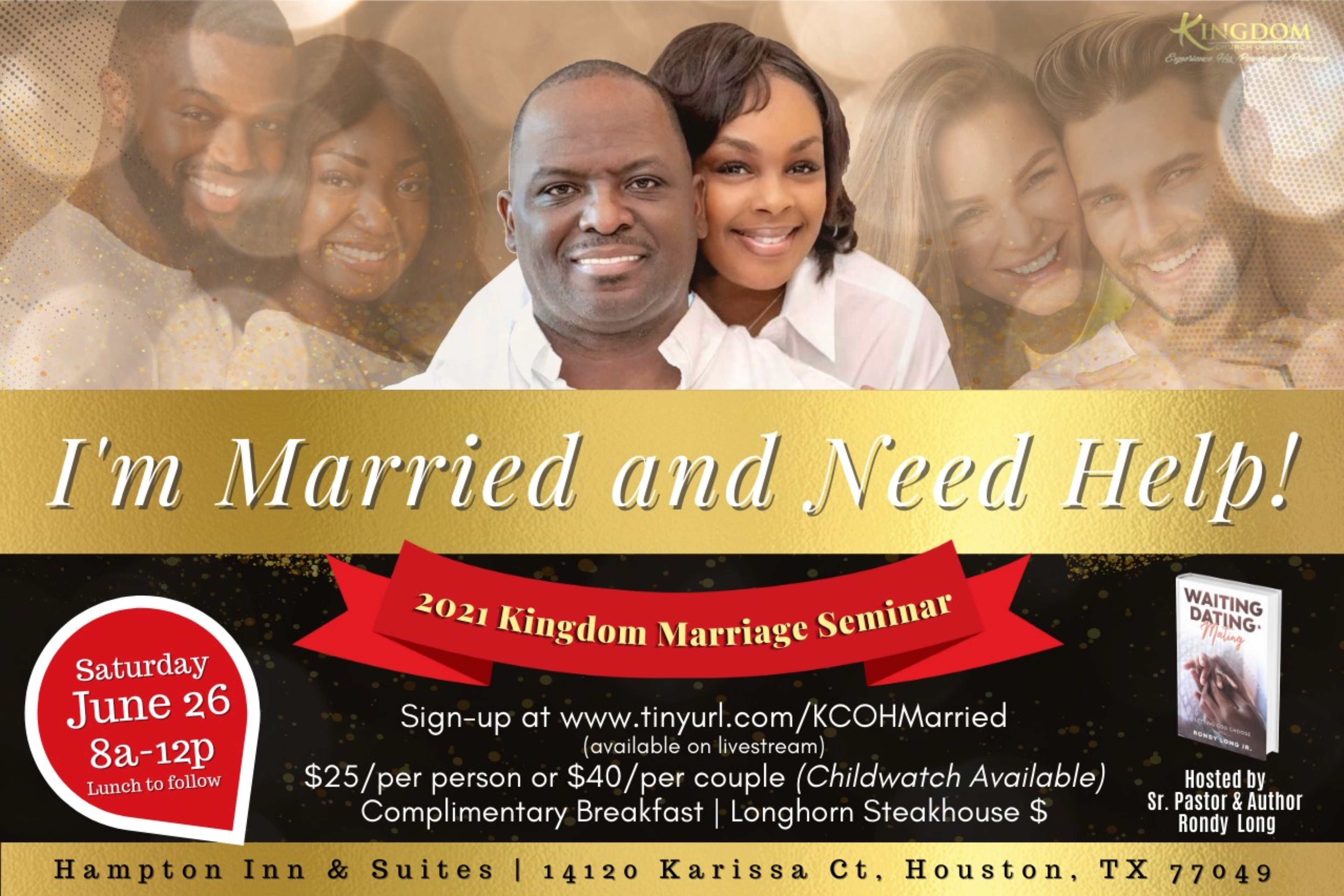 Seminar: I'm Married and Need Help! (Couples)
