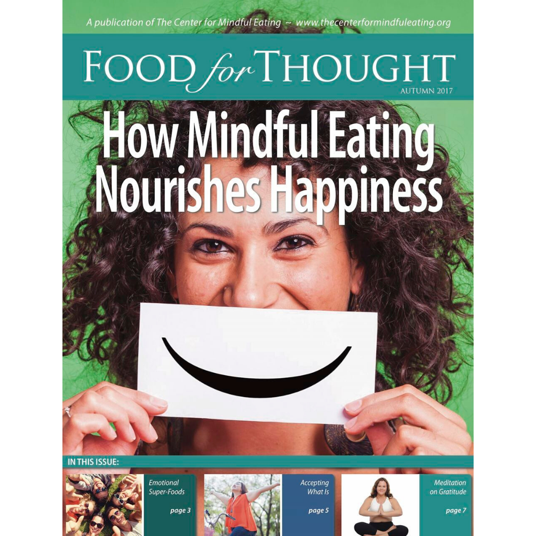 Food for Thought Autumn 2017: Nourishing Happiness