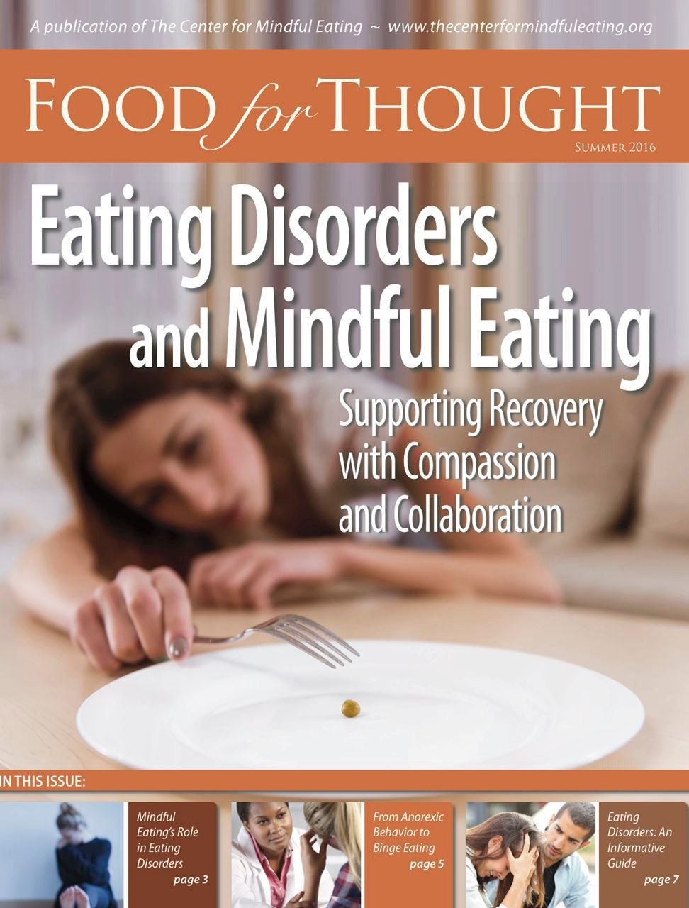 Food for Thought Summer 2016: Eating Disorders