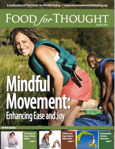 Food for Thought Spring 2016 Movement: Enhancing Ease and Joy​